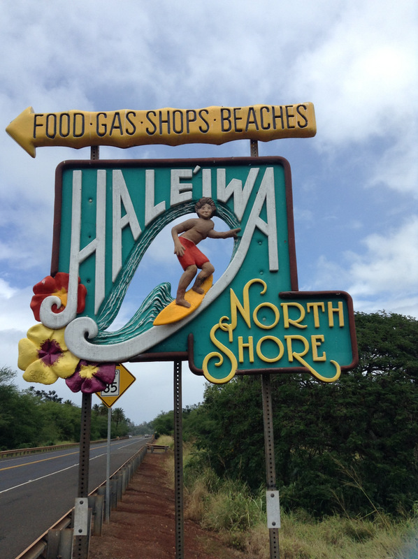 Iconic North Shore sign